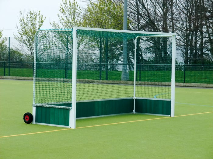 Self Weighted Hockey Goals complete with 3mm nets
