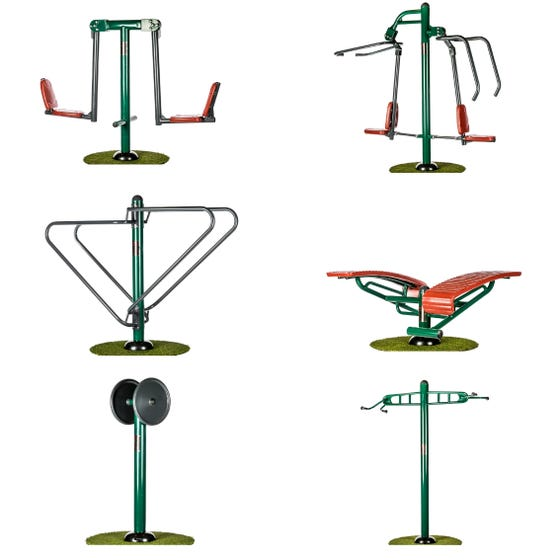 Strength & Social Package   Sunshine Gym   Outdoor Gym Equipment