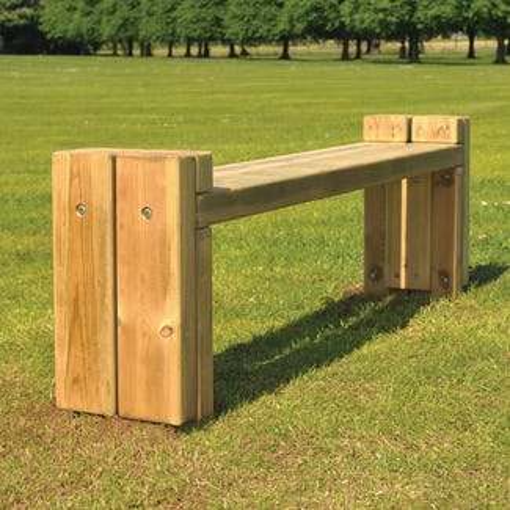 Cuerdon Bench | Timber Benches & Seats | Broxap
