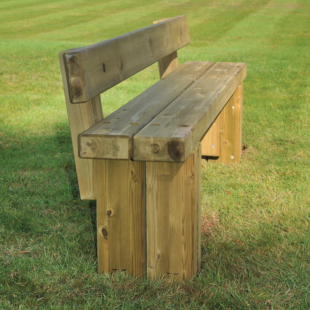 Penwortham Seat | Timber Benches & Seats | Broxap