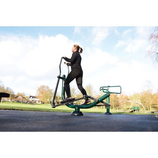 sky stepper|outdoor elliptical cross trainer |outdoor fitness equipment from Sunshine Gym