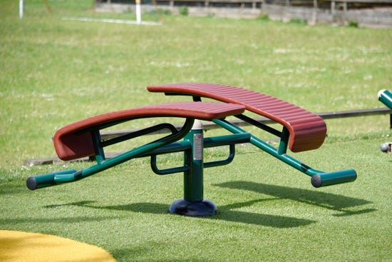 double sit up bench  outdoor incline bench   outdoor fitness equipment from Sunshine Gym