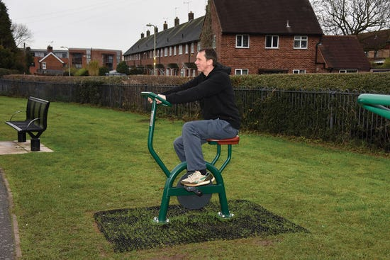 Bicycle | outdoor exercise bike | outdoor fitness equipment from sunshine gym
