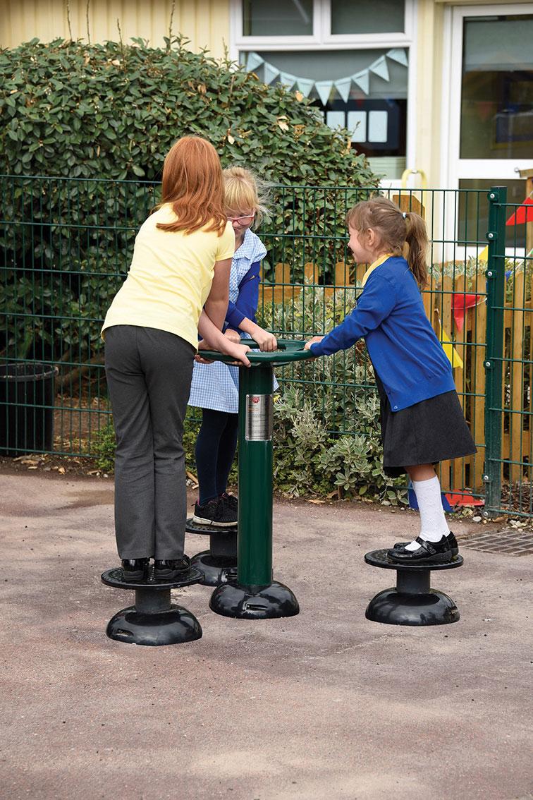 Children's Waist Twister   Children's Hip Twister   Children's outdoor fitness equipment from Sunshine Gym