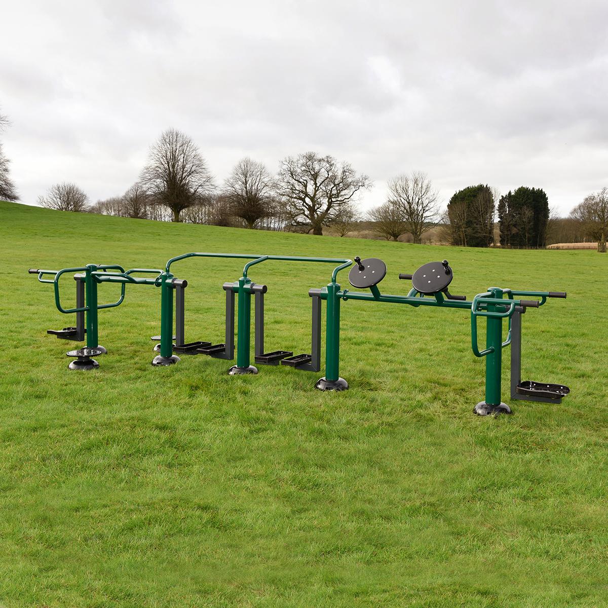 Children's ACTIV8 Multi Gym | Children's outdoor fitness station from Sunshine Gym