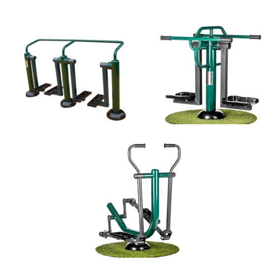 Primary School All Stars Package   Sunshine Gym   Outdoor Gym Equipment