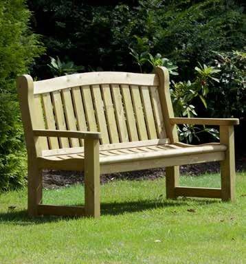 Cheriton Heavy Duty Timber Bench