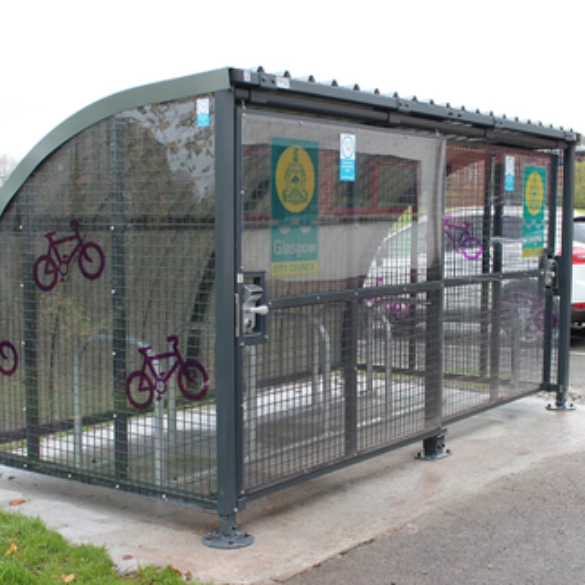 Wardale Cycle Shelter