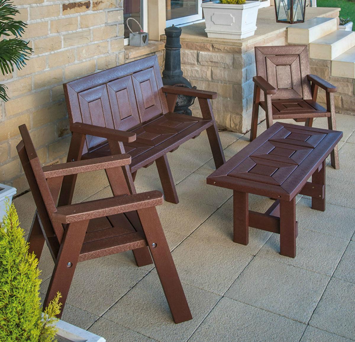 Harrogate Coffee Table with Seats