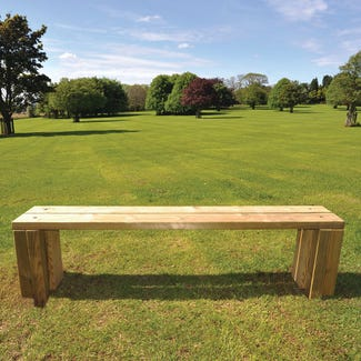 Hutton Bench | Timber Benches and Seats | Broxap