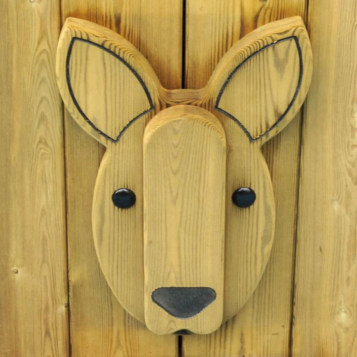 Kangaroo Animal Face