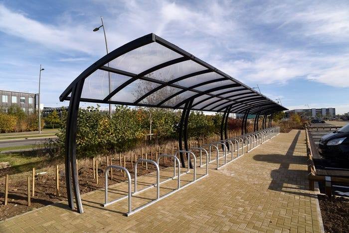Lightwood Cycle Shelter - Run of Six