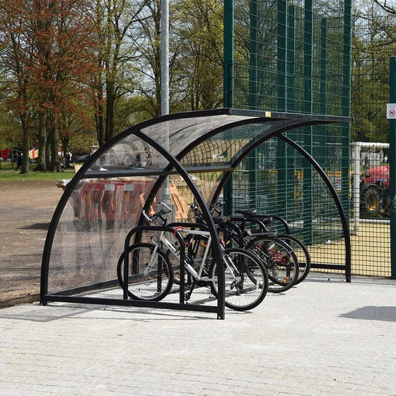 New Sheffield Cycle Shelter
