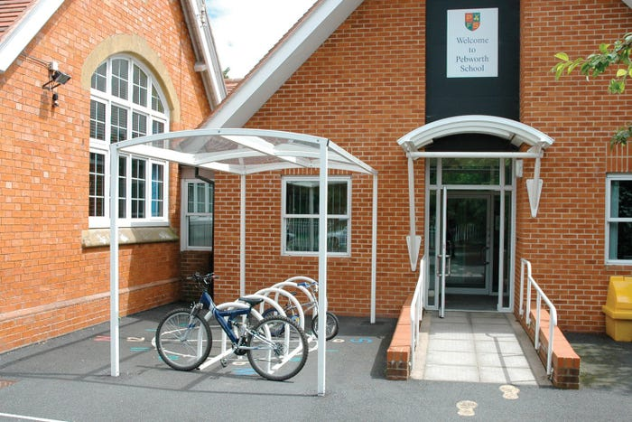 Newcastle Junior Cycle Shelter