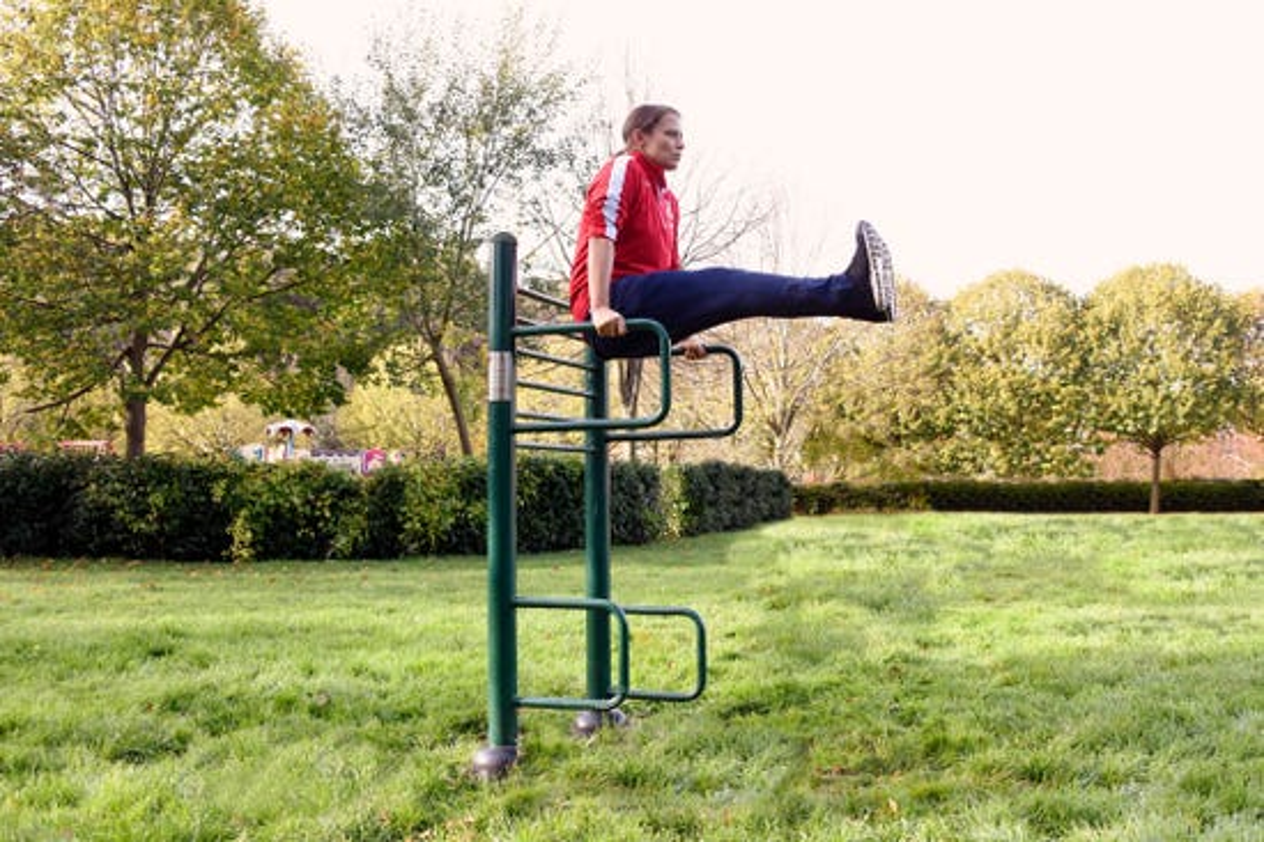 Leg Raise | outdoor leg raise |outdoor fitness equipment from sunshine gym