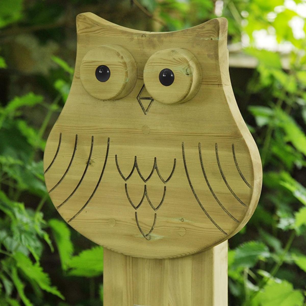 Owl Animal Face Totem