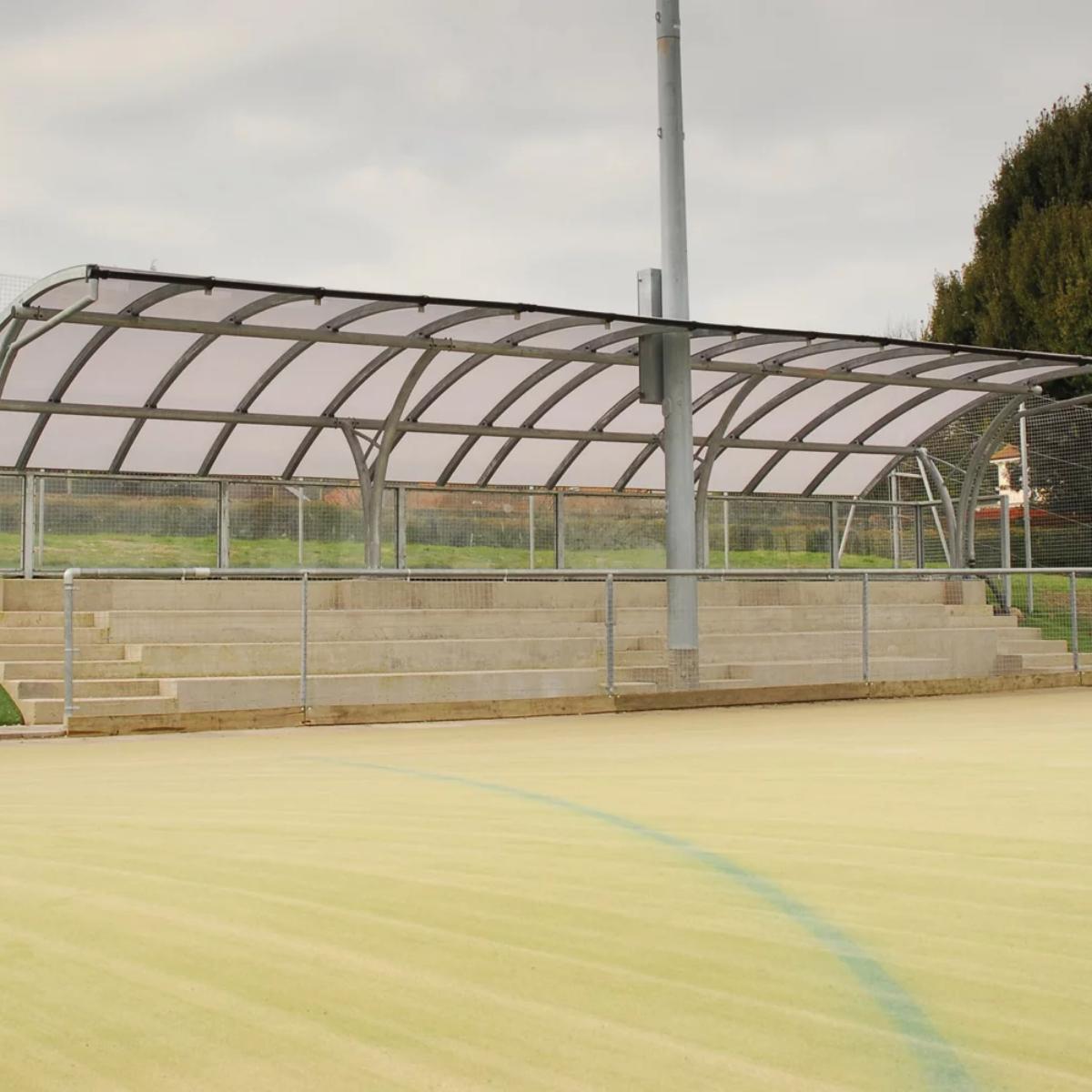 Eastbourne Sports Spectator Shelter