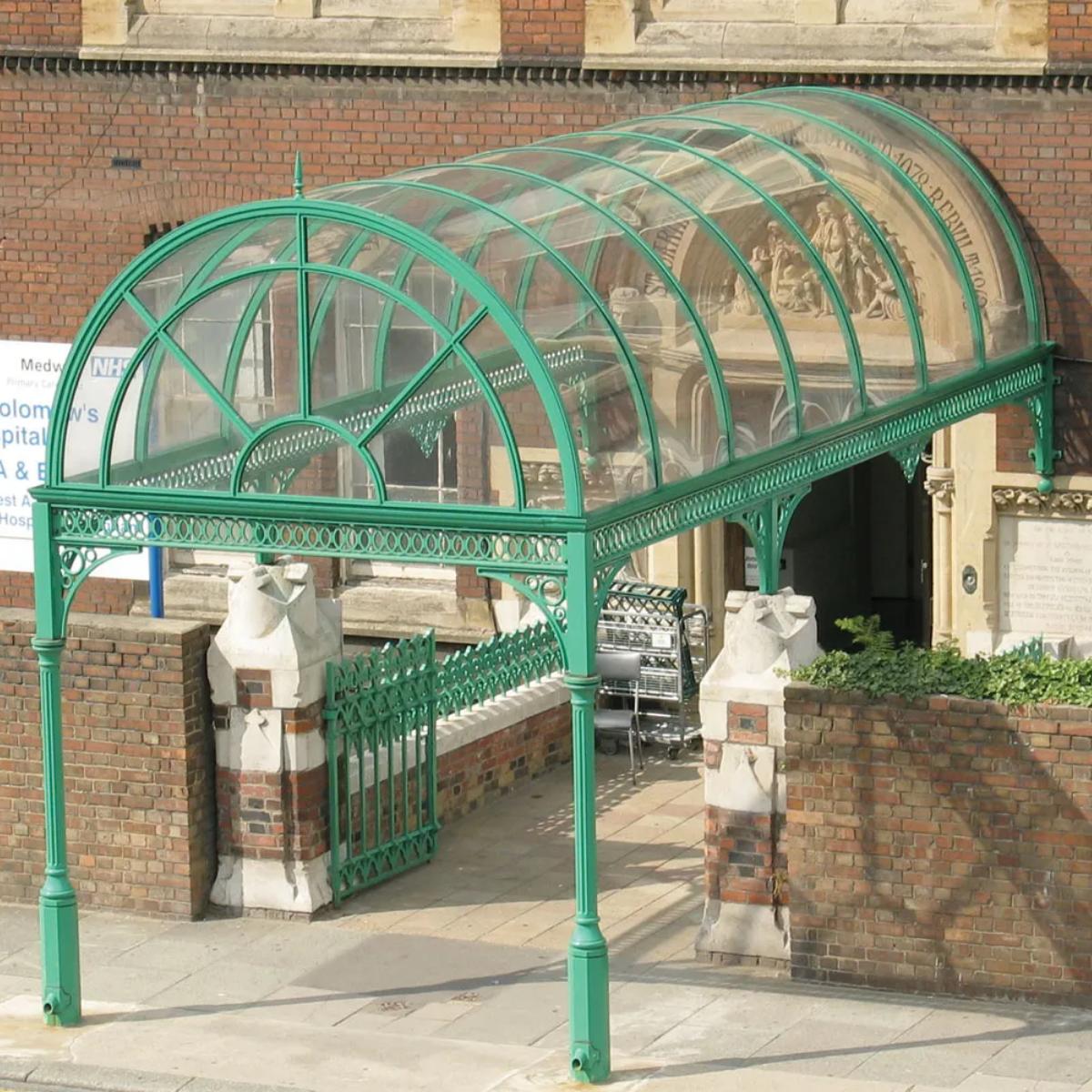 Barrel Vault Entrance Canopy