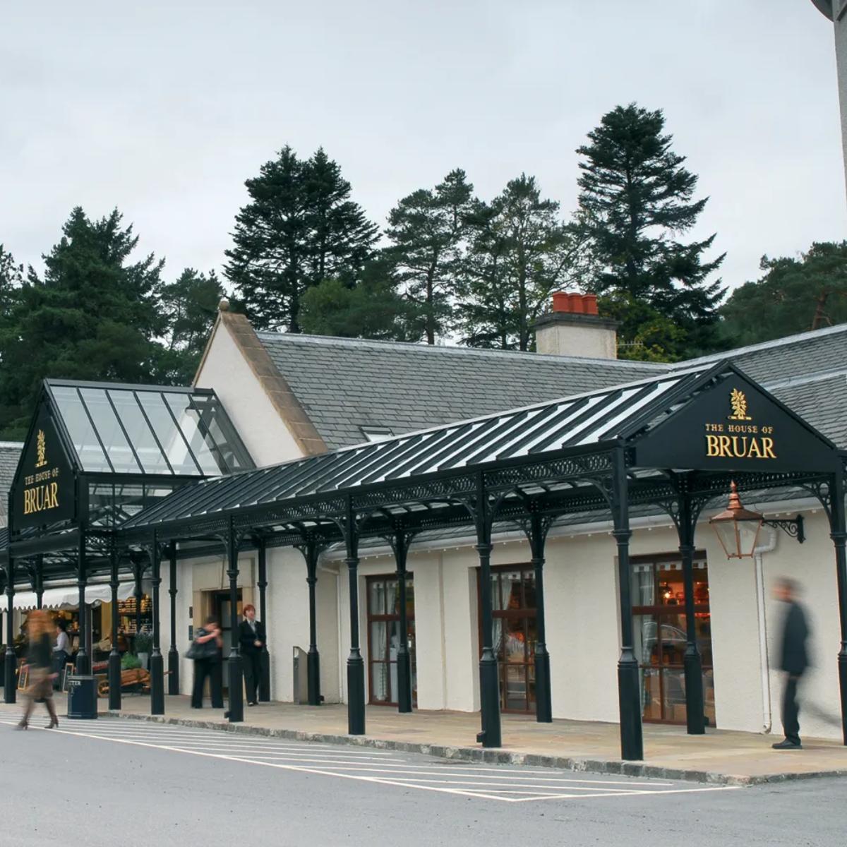 Colonnade Glazed Entrance Canopy