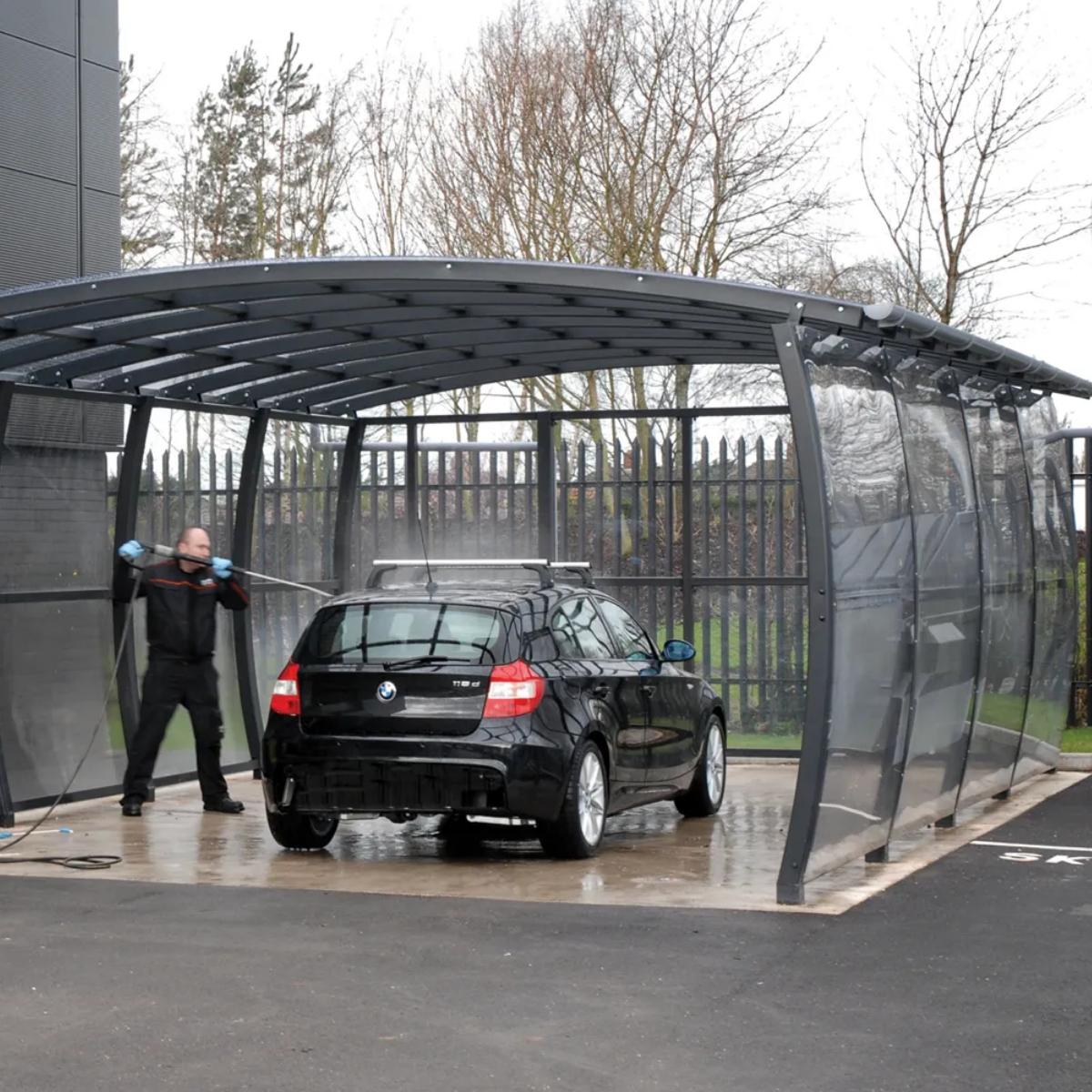 Car Wash Canopy