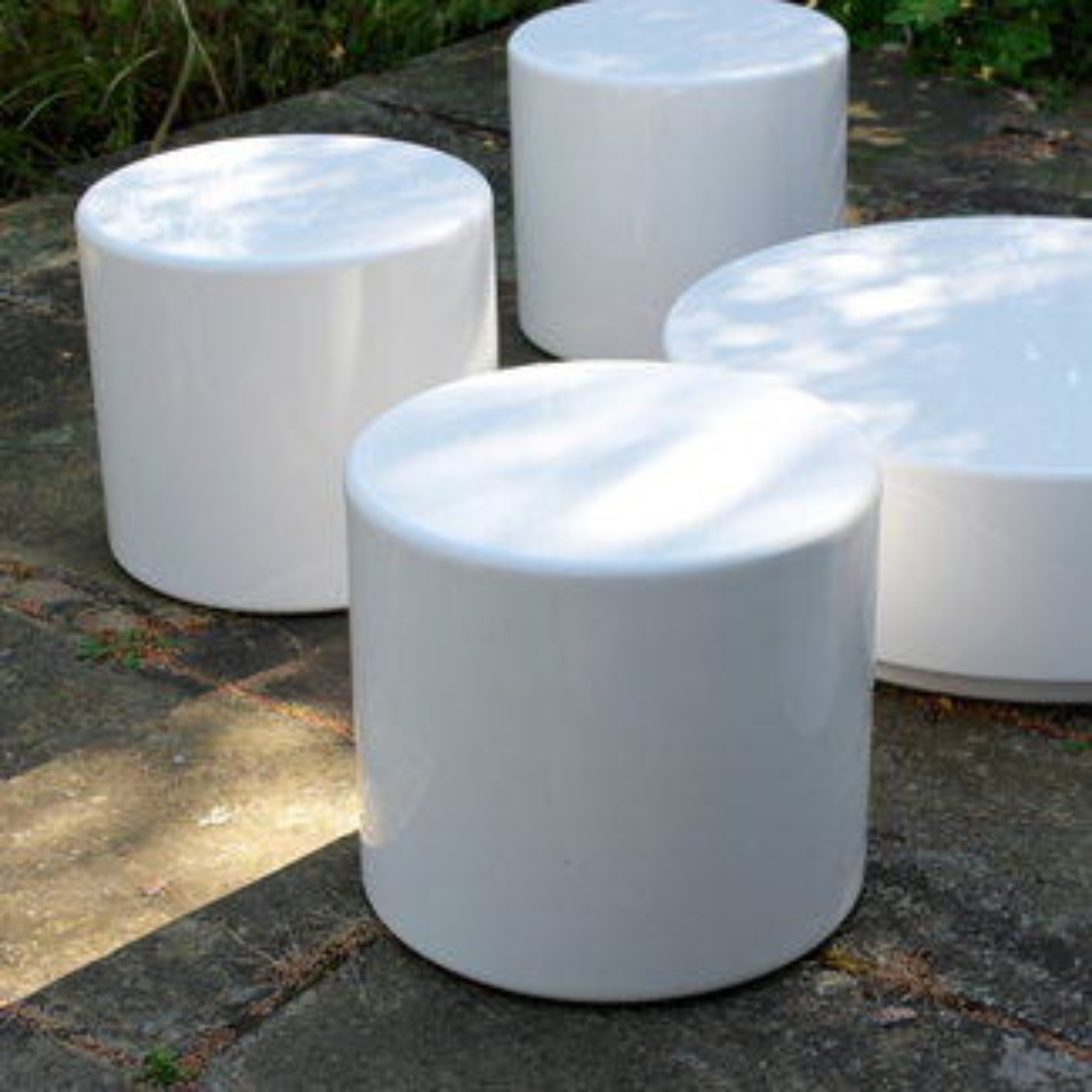 Drum Modular - Set of 6 Seats & Coffee Table