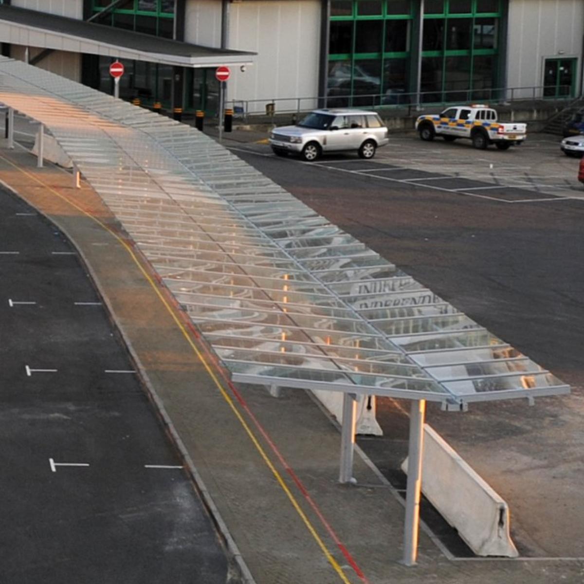 City Cruise Asymmetric Gullwing Walkway