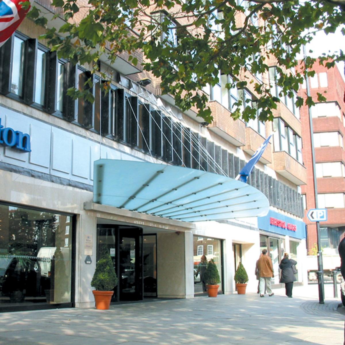 Hilton Entrance Canopy