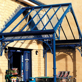 Market Duopitch Entrance Canopy