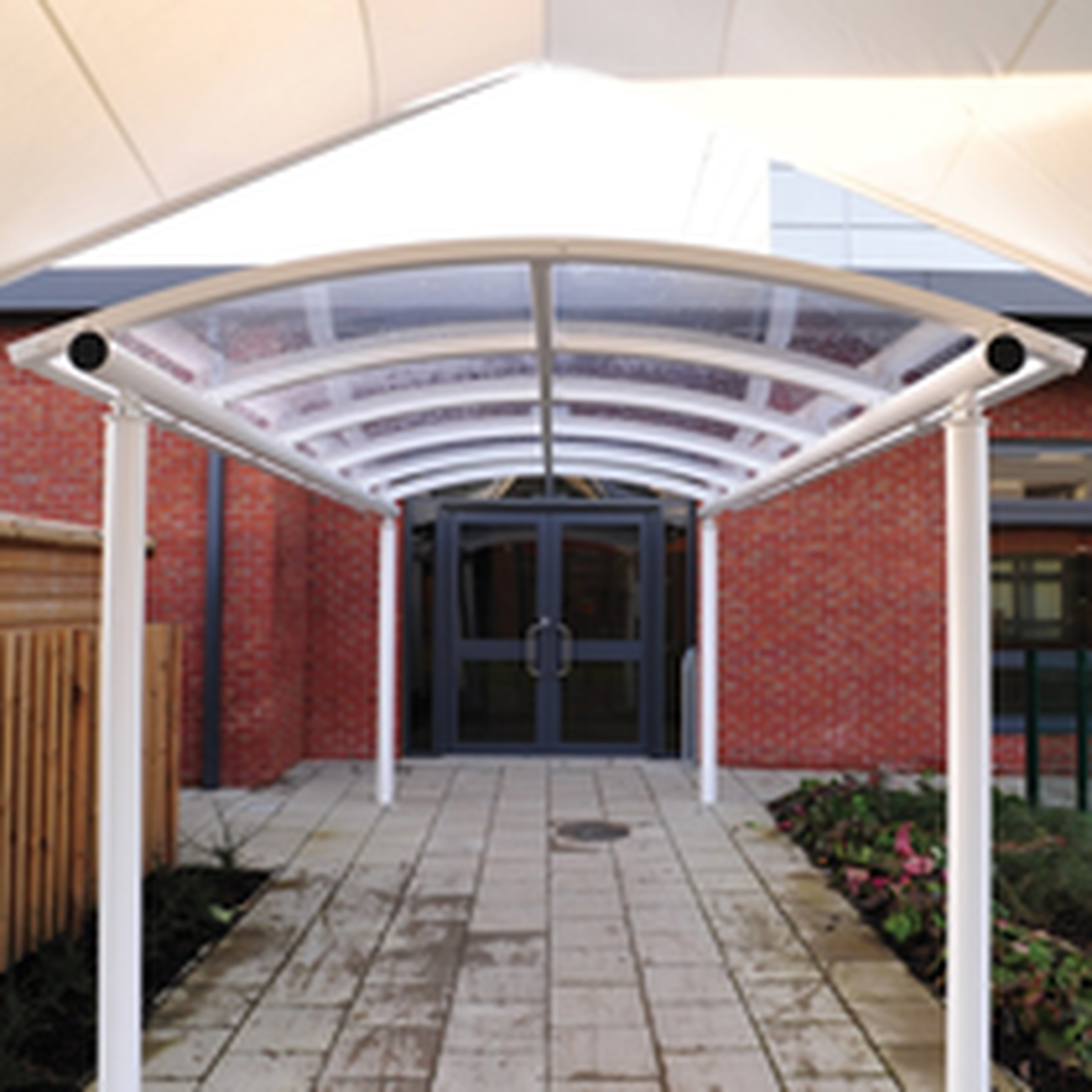 Luton Entrance Canopy