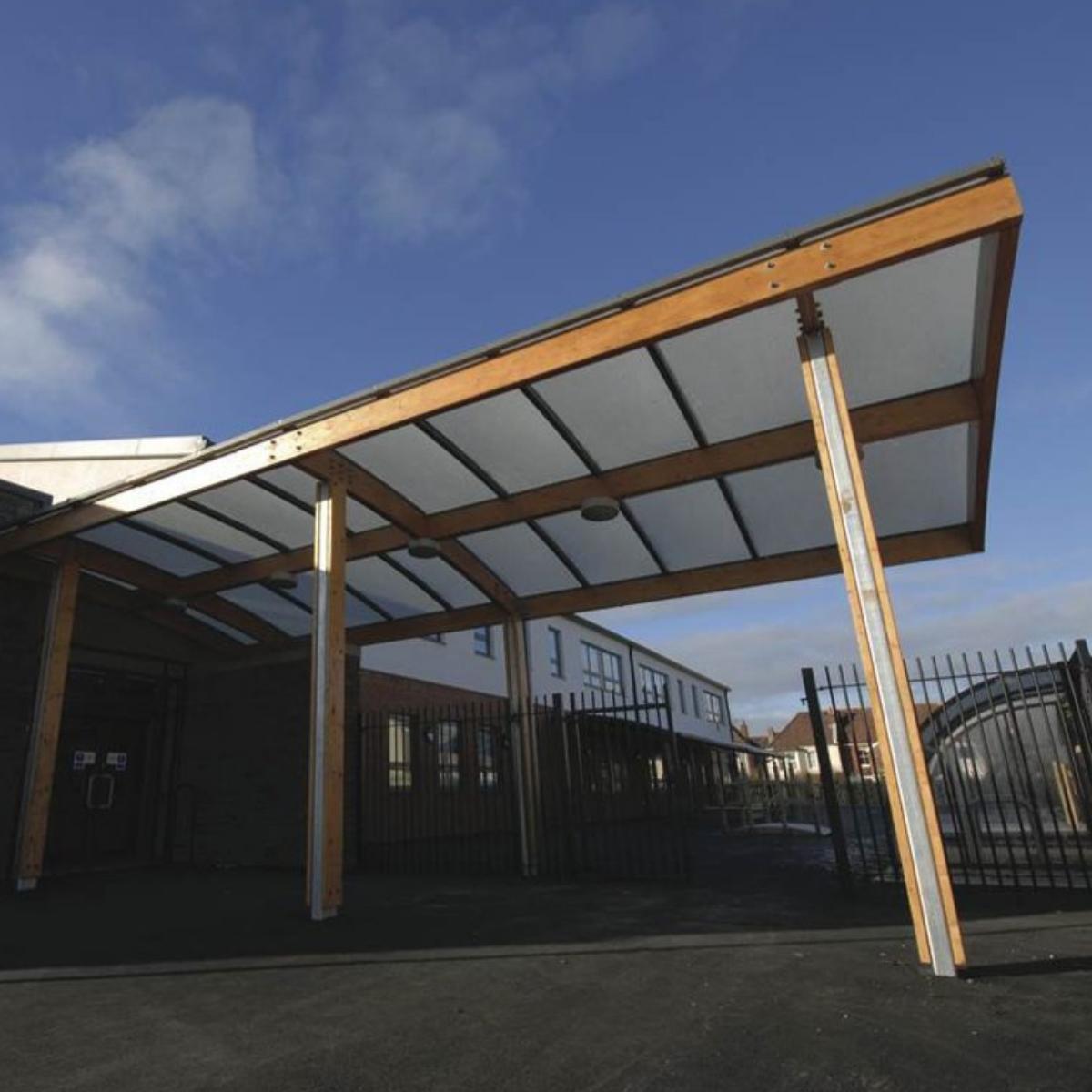 Bristol Entrance Canopy