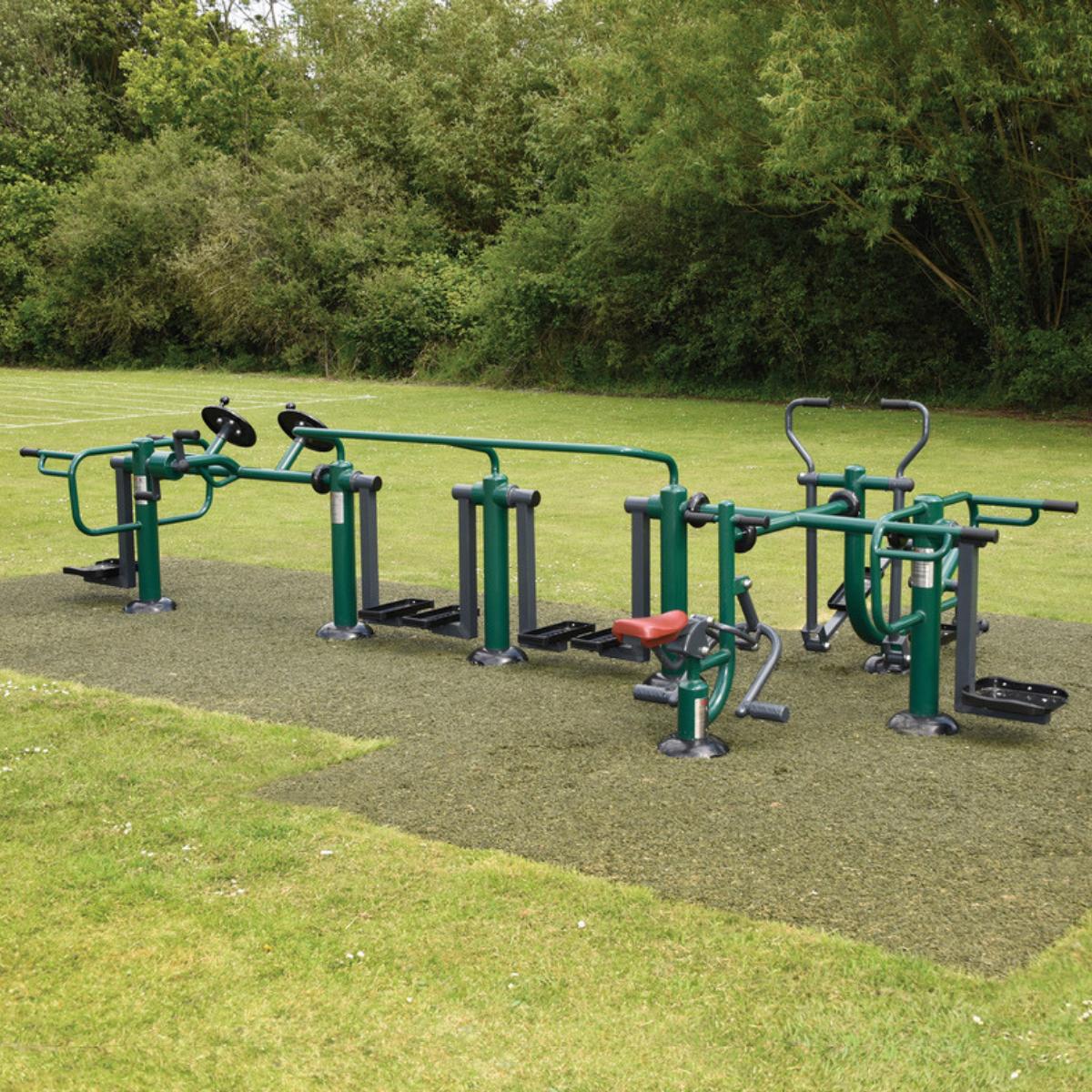Children's Integr8 Multi-Gym | Sunshine Gym | Outdoor Fitness Equipment